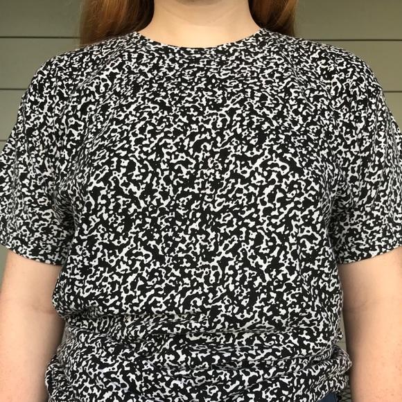 4321fd18c American Apparel Tops   Marble Notebook Print Tshirt   Poshmark